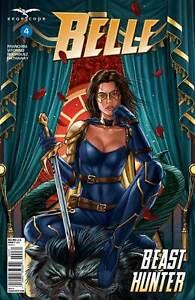 Zenescope GRIMM FAIRY TALES Belle Beast Hunter Issue #4 Cover C Ruiz Burgos GFT