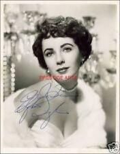 Elizabeth Taylor signed photo print