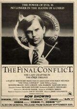 19/9/81PN26 OMEN III : THE FINAL CONFLICT MOVIE ADVERT 7X5