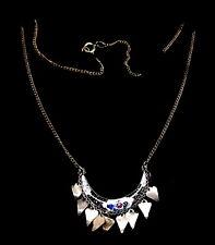 Antique Ottoman empire  Enamel pendant necklace.