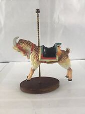 Treasury Of Carousel Art Billy Goat The Franklin Mint Figurine Great Condition