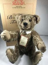 Steiff British Collector's Ltd Edition Teddy Bear 2004 Caramel 38cm EAN: 661372