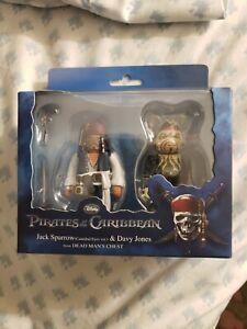 Medicom Bearbrick & Kubrick Jack Sparrow & Davy Jones Pirates Of The Caribbean