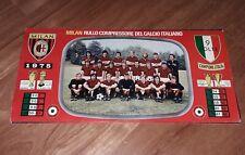 MAXI POSTER AC MILAN 1975 LA SQUADRA 49 X 24 cm