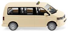 WIKING Modell 1:87/H0 PKW Taxi - VW T5 GP Multivan hellelfenbein #030808 NEU/OVP