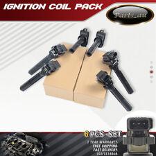 6x Ignition Coils for Suzuki Grand Vitara SV620 SQ625 JA627 97-06 2.0L 2.5L 2.7L