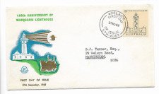 1968-First Day Cover-Australia-150th Anniversary Of Macquarie Lighthouse