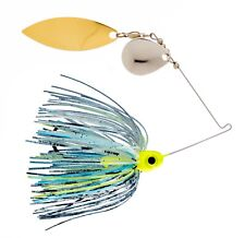 Kajun Boss 1/4 oz Toxic Shad Spinner bait - colorado/willow