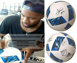 Andrew Farrell New England Revolution Signed Autographed MLS Soccer Ball Proof