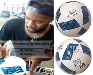 Andrew Farrell New England Revolution Signed Autograph MLS Soccer Ball Proof COA