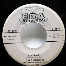 GALE ROBBINS 45 Riverman / This Can't Be the End of Me ERA promo popcorn c3163