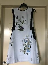 TED BAKER LONDON 'SIPNELA' Spring Meadow bow detail dress Size 4 (AUS 14)