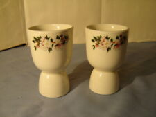 2 Vintage Mayer China Blossom Hill Pattern Egg Cups