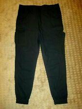 Publish Brand Joah Pants Jogger Style Black Cargo- size 34- EUC