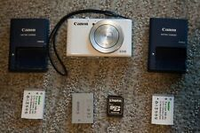 Canon PowerShot S110 Lightly Used 12.1 MP EXTRAS RAW + JPG Great Condition