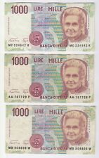 Italy 1000 Lire Notes | Bank Notes | Pennies2Pounds