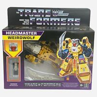 Transformers G1 Headmaster Weirdwolf Reissue Walmart Exclusive IN HAND