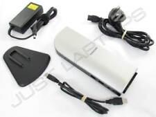 Toshiba Notebook USB 2.0 Docking Station Port Replicator w/ VGA & DVI Inc PSU