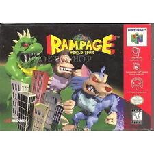 RAMPAGE WORLD TOUR *RARE* NINTENDO 64 GAME *NEW* AUS EXPRESS