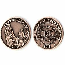 The Dawn of Respect Western Front 1916 Commemorative Penny