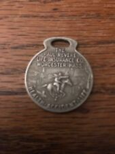 Vintage Watch Key Fob, Paul Revere Life Insurance, Worcester Ma, Accident Health