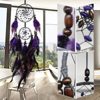 25'' Handmade Purple Dream Catcher Feather Wall Car Home Hanging Decor Ornament