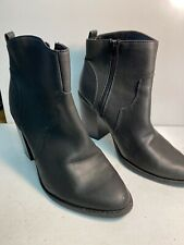 *lEXPRESS BLACK ANKLE HIGH BOOTS SIZE 8