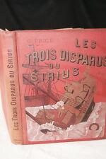 MARINE-LES TROIS DISPARUS DU SIRIUS-GEORGES PRICE-DESSINS ZIER-MAME-1896-RELIURE