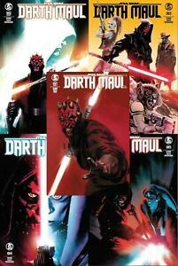 Star Wars Darth Maul #1-5 Set Turkish