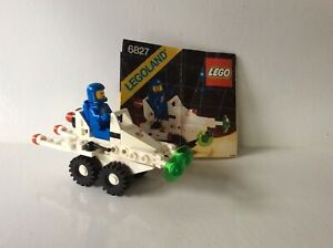 """VINTAGE LEGO #6827~ """"STRATA SCOOTER"""" ~ SPACE: CLASSIC SPACE ~ 1987"""