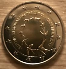 PIECE 2 EURO SLOVENIE 2017 UNC 10 ANS DE L'ENTREE DANS L'UE