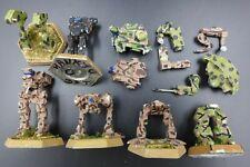Battletech Clan Omnimech Part Mechs (6) - metal FASA IR42