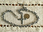 Victorian / Civil War Style Silver Pocket Watch Chain…6th  Corps Cross