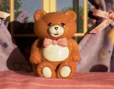 Light Brown Teddy Bear w/Pink Bow Toy fits Fisher Price Loving Family Dollhouse