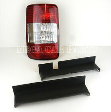 VOLKSWAGEN VW CADDY MK3 2005 - 2009 N/S REAR LEFT TAIL LIGHT LAMP 1/2 REAR DOORS
