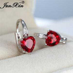 Elegant 925 Silver Earrings Drop for Women Cubic Zirconia Jewelry A Pair/set