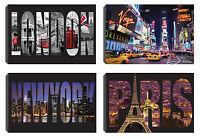 "Iconic Cities Mini Slip In Photo Photograph Album Holds 40 -10x15cm  6x4"" Photos"