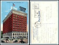 ALABAMA Postcard - Montgomery, Jefferson Davis Hotel N36
