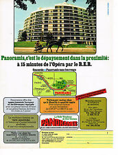 """PUBLICITE ADVERTISING 054  1971  PANORAMIS   """" LA BELLE RESIDENCE"""""""