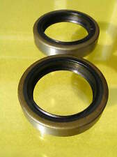 2 FORK OIL SEALS NORTON 750 850cc roadholder forks ATLAS COMMANDO  pt no 06-5483