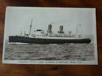 Lot45a Canadian Pacific Liner 'DUCHESS of BEDFORD' Postcard