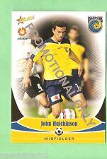 #D80.  2006 SOCCER FOOTBALL  PROMOTIONAL CARD - JOHN HUTCHINSON, MARINERS
