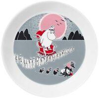 Moomin Plate New Adventure Move Muutto 2013 Arabia Finland