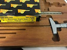 """BROWN AND SHARPE 599-603-123 Outside Micrometer, 0 to 3"""", 0.001"""" WITH CASE"""