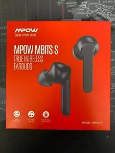 Mpow MBits S True Wireless Earbuds w/Mic CVC8.0 Noise Cancelling Earphones