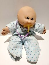 Vintage Cabbage Patch Preemie Doll 1985 Beanbag Body Pacifier Weighted Measles