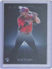 2013 Bowman Sterling Blue Refractor #26 Adam Eaton No 25 of 25