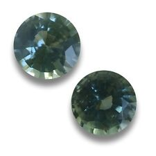 0.70/0.87 Carats | Natural Unheated Green Sapphire|Loose Gemstone| Sri Lanka