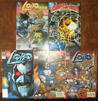 LOBO Comic Lot Miniseries 1 2 4 Omega Men 10 DC Portrait of a Victim 1 Bisley
