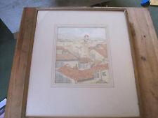 Florentine Rooftops Sam Hartley Braithwaite, British 1883-1947 Watercolour 1926